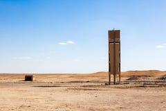Egyptiska ökenplatser Arkivfoton
