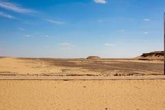 Egyptiska ökenplatser Arkivfoto