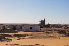 Egyptiska ökenplatser Arkivbilder