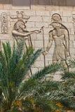 Egyptiska gudar Horus Arkivfoto