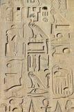 Egyptiska hieroglyf på obelisken framme av St John Lateran ArchBasilica i Rome Royaltyfri Bild