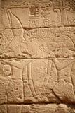 egyptiska hieroglyphs Royaltyfria Foton