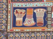 Egyptiska huvudstäder Royaltyfri Fotografi