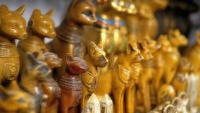 Egyptiska katter f arkivfilmer