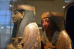 Egyptiska mammor Arkivbild