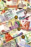 egyptiska pengar Fotografering för Bildbyråer