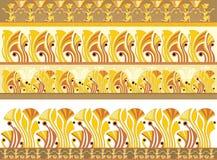egyptiska prydnadar stock illustrationer