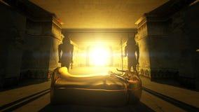 egyptiska tombs Fotografering för Bildbyråer