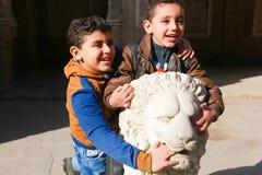 Egyptiska ungar arkivbilder