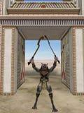 egyptiskt fantasimonster för anubis Royaltyfri Bild