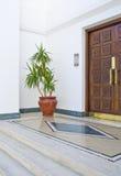 egyptiskt ingångshotell Arkivfoto