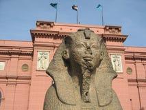 Egyptiskt museum, Cairo Royaltyfria Foton