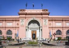 Egyptiskt museum, Cairo arkivbild