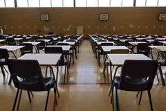 Egzaminów stoły Obraz Stock
