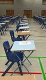 Egzaminów stoły Obraz Royalty Free