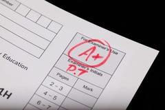 egzamin Fotografia Stock