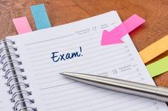 egzamin fotografia royalty free