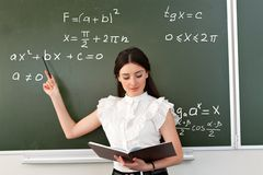 egzamin bierze nauczyciela Obraz Royalty Free