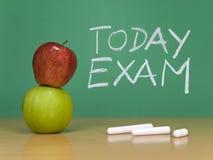 egzamin dzisiaj zdjęcie stock