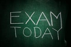 Egzamin dzisiaj zdjęcia stock