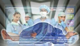 egzamin medyczny Fotografia Stock