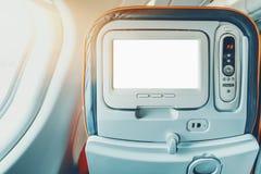 Egzamin próbny Seat monitor samolot Obraz Stock