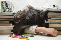 Egzaminy i szkolny concep Fotografia Stock