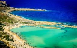 Egzot plaża Zdjęcia Royalty Free