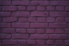 egzotyczna purpurowa ściany z cegieł tła tekstura zdjęcia stock
