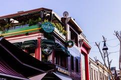 Egzotyczna restauracja W Kadikoy centrum Istanbuł, Turcja - Zdjęcia Royalty Free