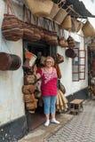 Egzotyczne handmade torby w Kenja africa Fotografia Royalty Free