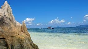 egzotyczne na plaży Obraz Royalty Free