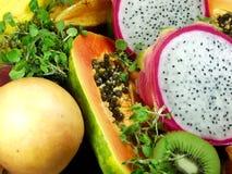 egzotyczne owoce obrazy royalty free