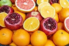 egzotyczne owoce Fotografia Royalty Free
