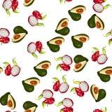 egzotyczne owoce tropikalne Fotografia Stock