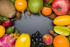 egzotyczne owoce tropikalne obrazy stock