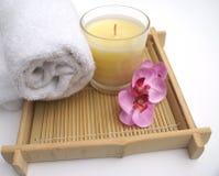 egzotyczne pampering spa Zdjęcia Royalty Free