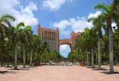egzotyczne plażowy kurort Obrazy Royalty Free