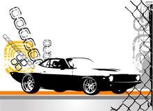 egzotyczne wektora samochodowy ilustracja wektor