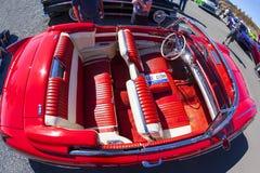 Egzotycznego rocznika klasyczny motorcar na pokazie Obraz Royalty Free