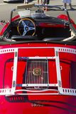 Egzotycznego rocznika klasyczny motorcar na pokazie Fotografia Stock
