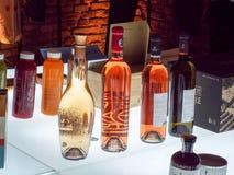 Egzotyczni alkoholiczni napoje od Azja Fotografia Stock