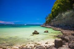 Egzotyczni oszałamiająco denni widoki na wyspie Boracay Fotografia Stock