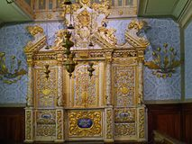 Egzotyczni synagoga meblowania zdjęcie stock