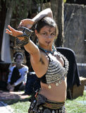 Egzotyczny brzucha tancerz Obraz Royalty Free
