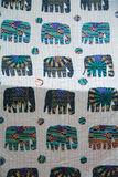 egzotyczny patchwork Zdjęcia Stock