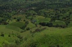 Egzotyczny Satara wioski krajobraz Obraz Royalty Free