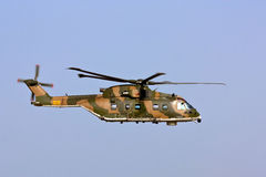 EH-101 Merlin Portuguese at runway approach. Stock Photography