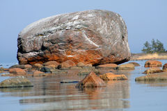 Ehalkivi - the erratic boulder Royalty Free Stock Images