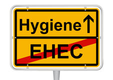 EHEC/Hygiene Royalty Free Stock Photography